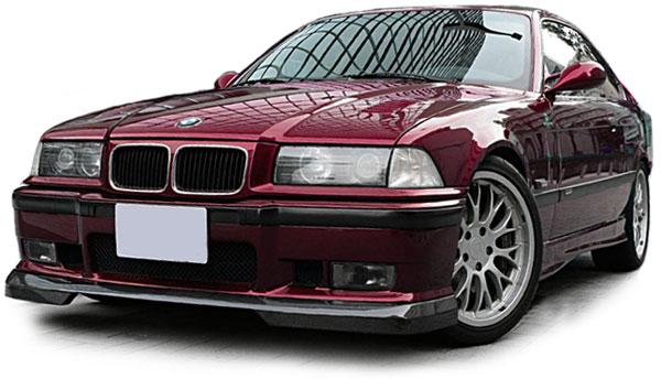 Rennsport Performance Alu Wasser Kühler für BMW 3ER E 325i 328i 90-99