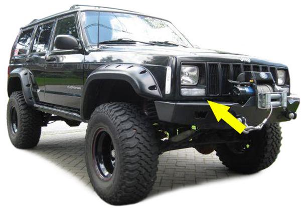 blinker jeep cherokee xj 97 01 in seuzach kaufen bei auto. Black Bedroom Furniture Sets. Home Design Ideas