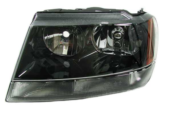 jeep grand cherokee mk ii wj wg 4 7 v8 167kw bj xenon scheinwerfer h3 t4w hb4 hb3. Black Bedroom Furniture Sets. Home Design Ideas