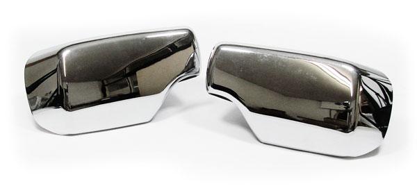 spiegelkappen abdeckungen chrom f r bmw e46 e39 ebay. Black Bedroom Furniture Sets. Home Design Ideas
