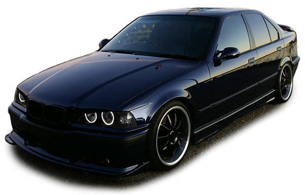 ccfl angel eyes h1 h3 scheinwerfer schwarz f r bmw 3er e36. Black Bedroom Furniture Sets. Home Design Ideas
