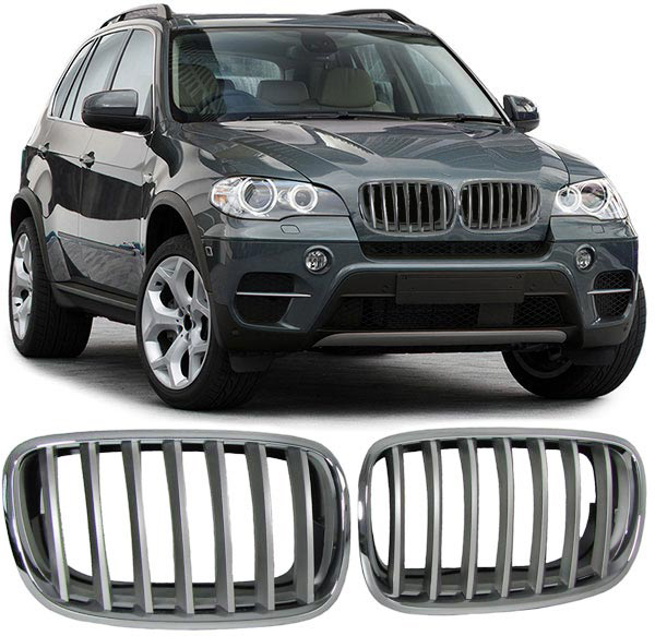 bmw x5 e70 sport nieren grill chrome uwautoonderdeel. Black Bedroom Furniture Sets. Home Design Ideas