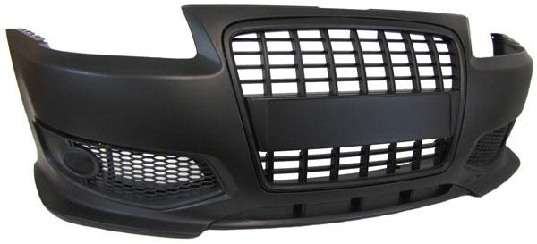 extremehifi audi a3 8l sto stange s line single frame. Black Bedroom Furniture Sets. Home Design Ideas