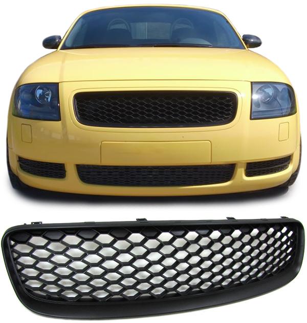 Front Grills Black For Audi Tt 8n 98 06 Spoiler Body Kit New