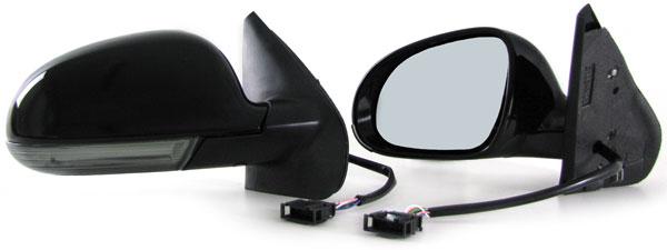 au enspiegel spiegel golf 5 look led blinker smoke f r vw golf 4 bora 97 03 ebay. Black Bedroom Furniture Sets. Home Design Ideas