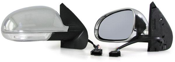 vw golf 4 bora 97 03 au enspiegel spiegel chrom golf 5. Black Bedroom Furniture Sets. Home Design Ideas