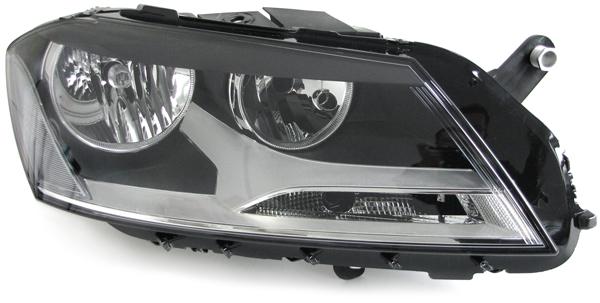 10-/>/> Valeo H7+H7 Scheinwerfer rechts für VW Passat B7 Typ 36 Bj