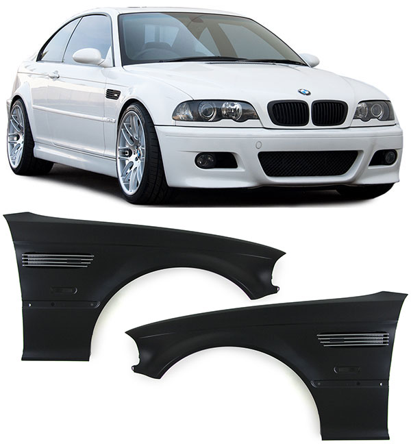 3er bmw e46 coupe cabrio 99 01 kotfl gel rechts links m3. Black Bedroom Furniture Sets. Home Design Ideas