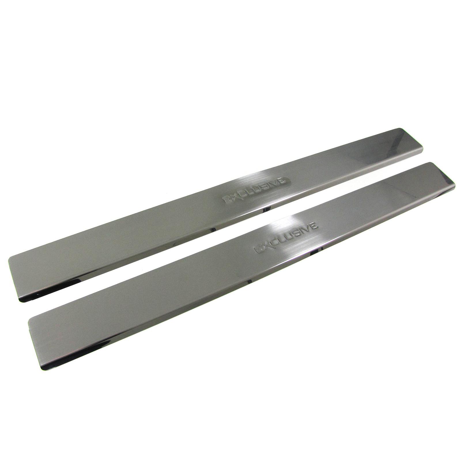 Einstiegsleisten Schutz schwarz Exclusive für Opel Astra H Coupe GTC 04-09