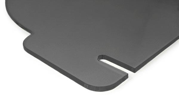 Coupe-vent Déflecteur en verre acrylique clair pour Mercedes SLK r170 96-04