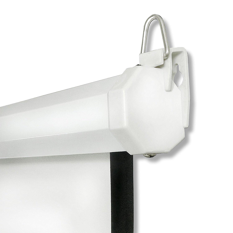 beamer projektor heimkino rollo leinwand hdtv 152x152 cm f r 1 1 4 3 16 9 ebay. Black Bedroom Furniture Sets. Home Design Ideas