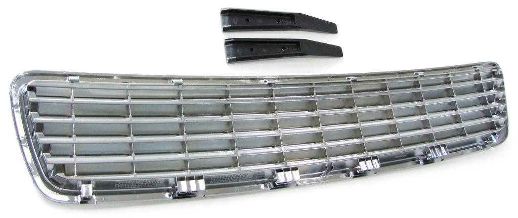 Sport Kühlergrill ohne Emblem chrom für Audi A4 B5 Limousine Avant 94-01