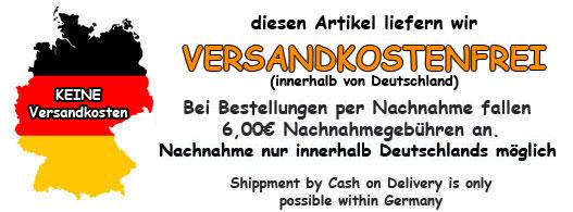 kostenloser innerdeutscher Versand