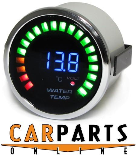 Wassertemperatur Anzeige Zusatz Instrument 52mm Tenzo Pro