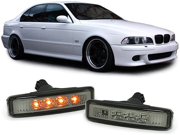 Seitenblinker für BMW E39 Limousine Touring schwarz