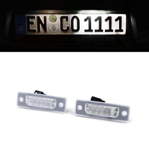 LED Kennzeichenbeleuchtung Weiß 6000K für BMW 5er E34 88-95 7er E32 86-94