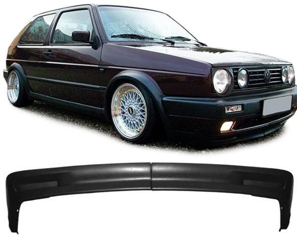 Spoiler Lippe für breite Stoßstange für VW Golf 2 GL GTI 83-92