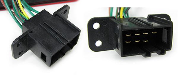 Carparts-Online 11753 LED R/ückleuchten rot klar Facelift Optik