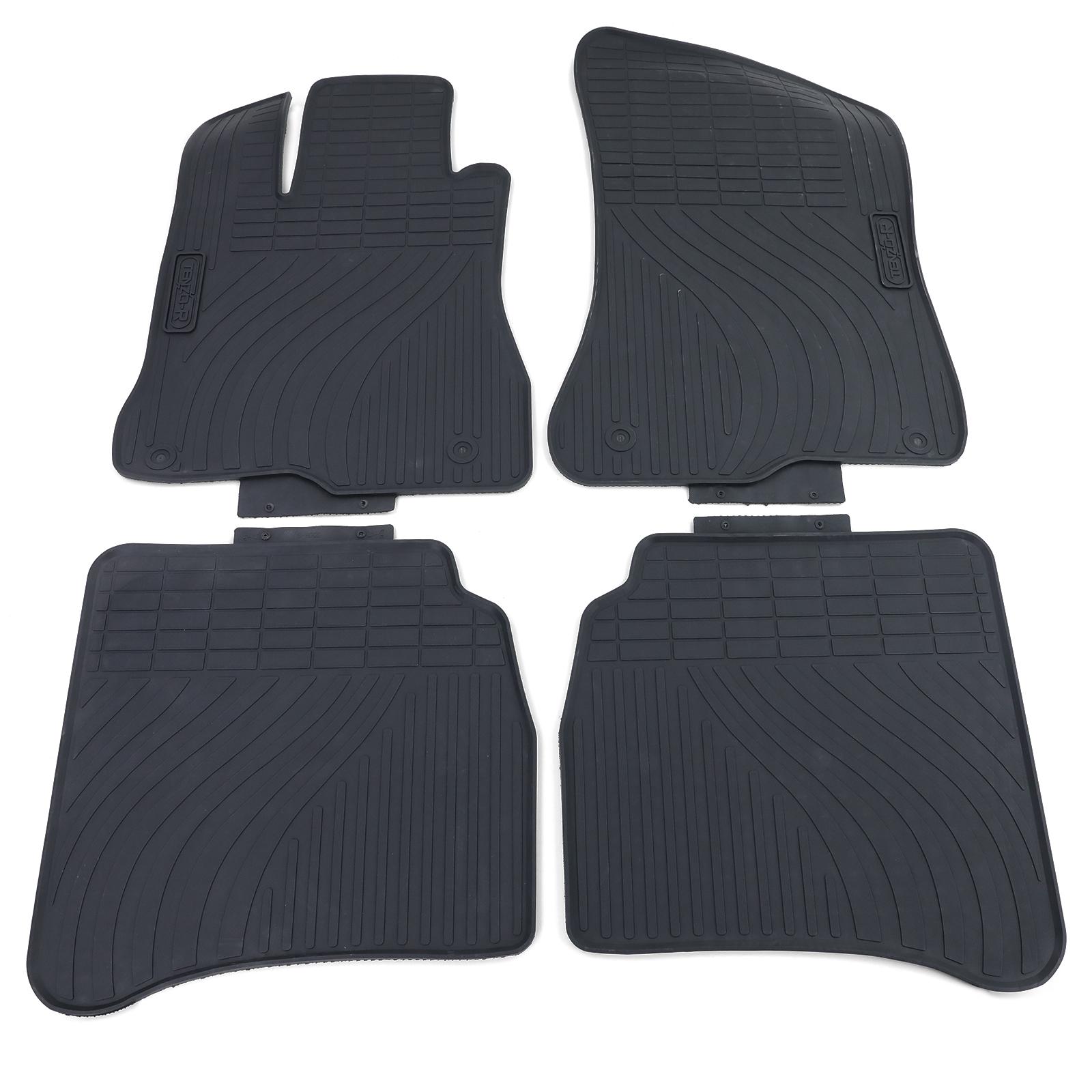 Fußmatten Auto Autoteppich passend für Mercedes S-Klasse W221 2005-2013