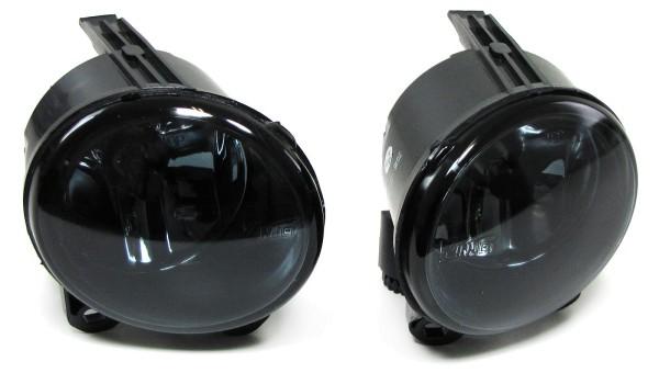 Klarglas Nebelscheinwerfer Schwarz Smoke für BMW X5 E53 Facelift 03-06