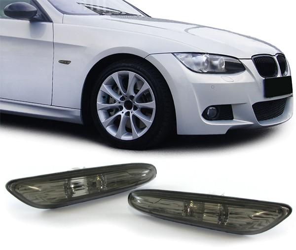 Seitenblinker schwarz für BMW E81 E82 E87 E88 E90 E91 E92 E93 X1 E84