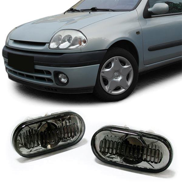 Seitenblinker schwarz smoke für Renault Twingo Clio Megane Kangoo R19 Espace