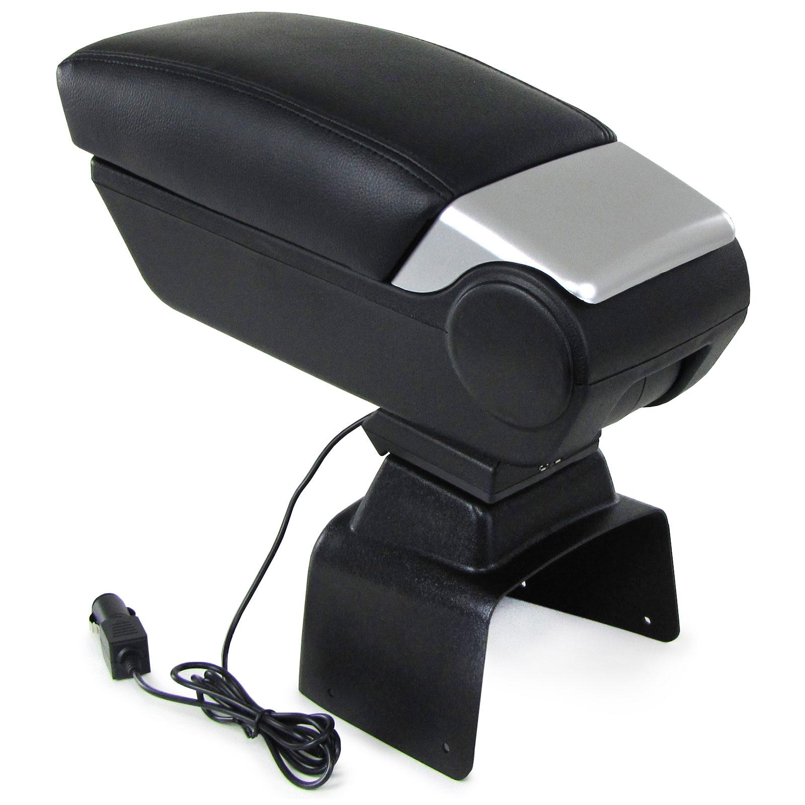 2 USB für Ford Focus II 04-12 Premium Mittelarmlehne Armlehne mit Staufach