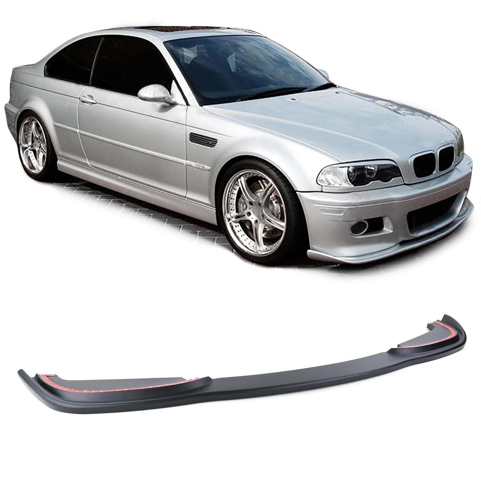 BMW 3er E46 Diffusor für Sportoptik  Stoßstange hinten