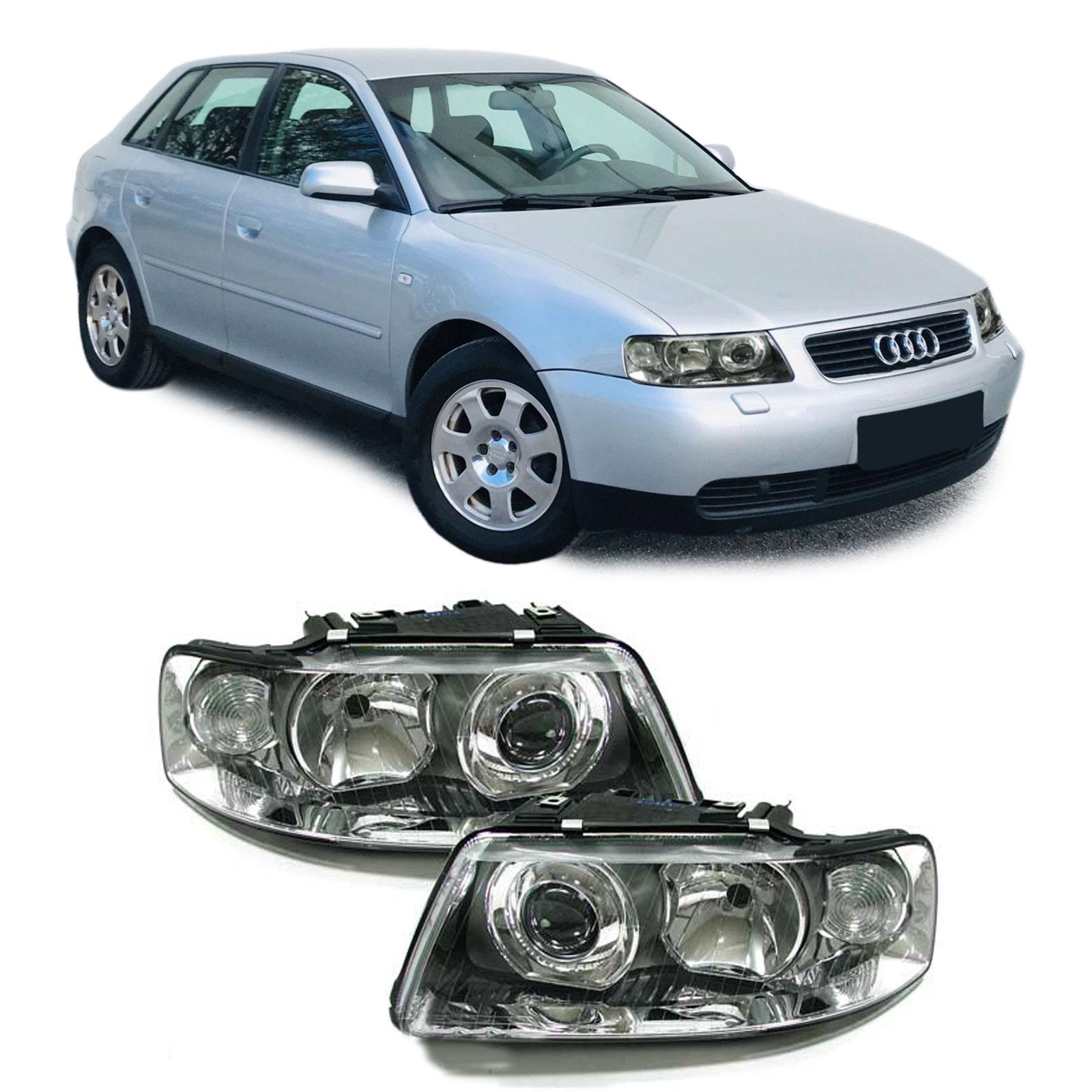 Audi-A3-FACELIFT-DE-H7-H1-KLARGLAS-SCHEINWERFER-PAAR