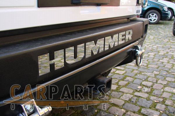 Online Car Parts >> Hummer H2 EDELSTAHL SCHRIFTZUG HUMMER STOsSTANGE | eBay