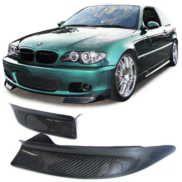 bmw e46 echt carbon csl look flaps ansatz f r sto stange. Black Bedroom Furniture Sets. Home Design Ideas