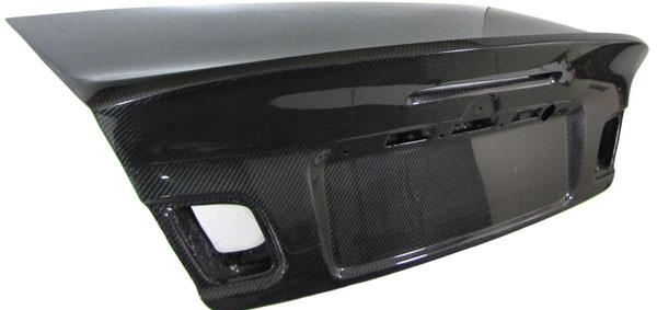 bmw e46 cabrio carbon kofferraumdeckel heckklappe csl look. Black Bedroom Furniture Sets. Home Design Ideas