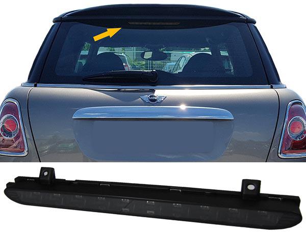Mini-R56-R60-7-2010-On-Third-LED-Brake-Light-Stop-Emergency-Lamp-Black