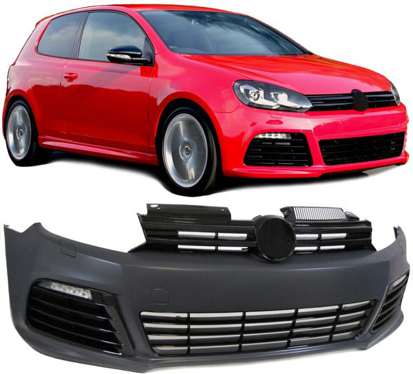 golf 6 front sto stange r20 r line grill led. Black Bedroom Furniture Sets. Home Design Ideas