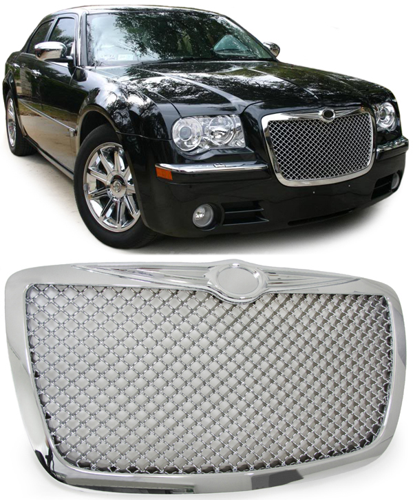 300 Srt8 Meet Mr Bentley On: Chrysler 300 C 04-11 Calandre Grill En Bentley Ajourées