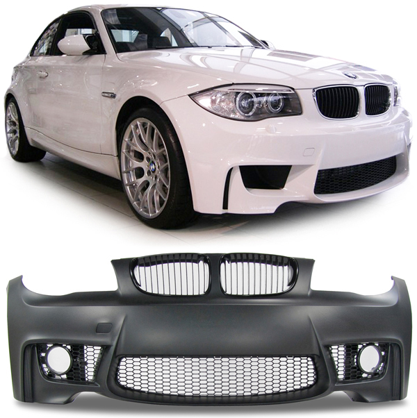 1er bmw e81 e82 e87 e88 front sto stange sport m optik ebay. Black Bedroom Furniture Sets. Home Design Ideas